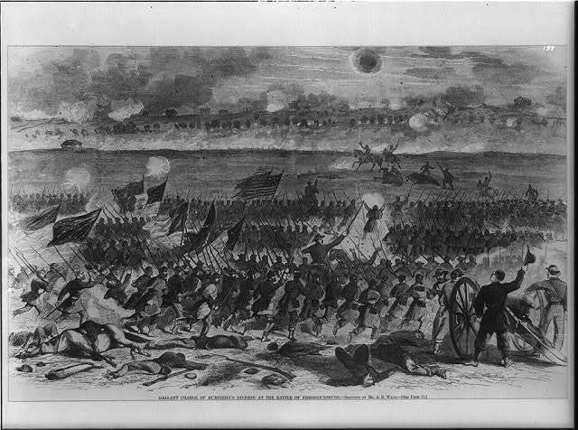Gallant Charge of Humphrey's Division at the Battle of Fredericksburg
