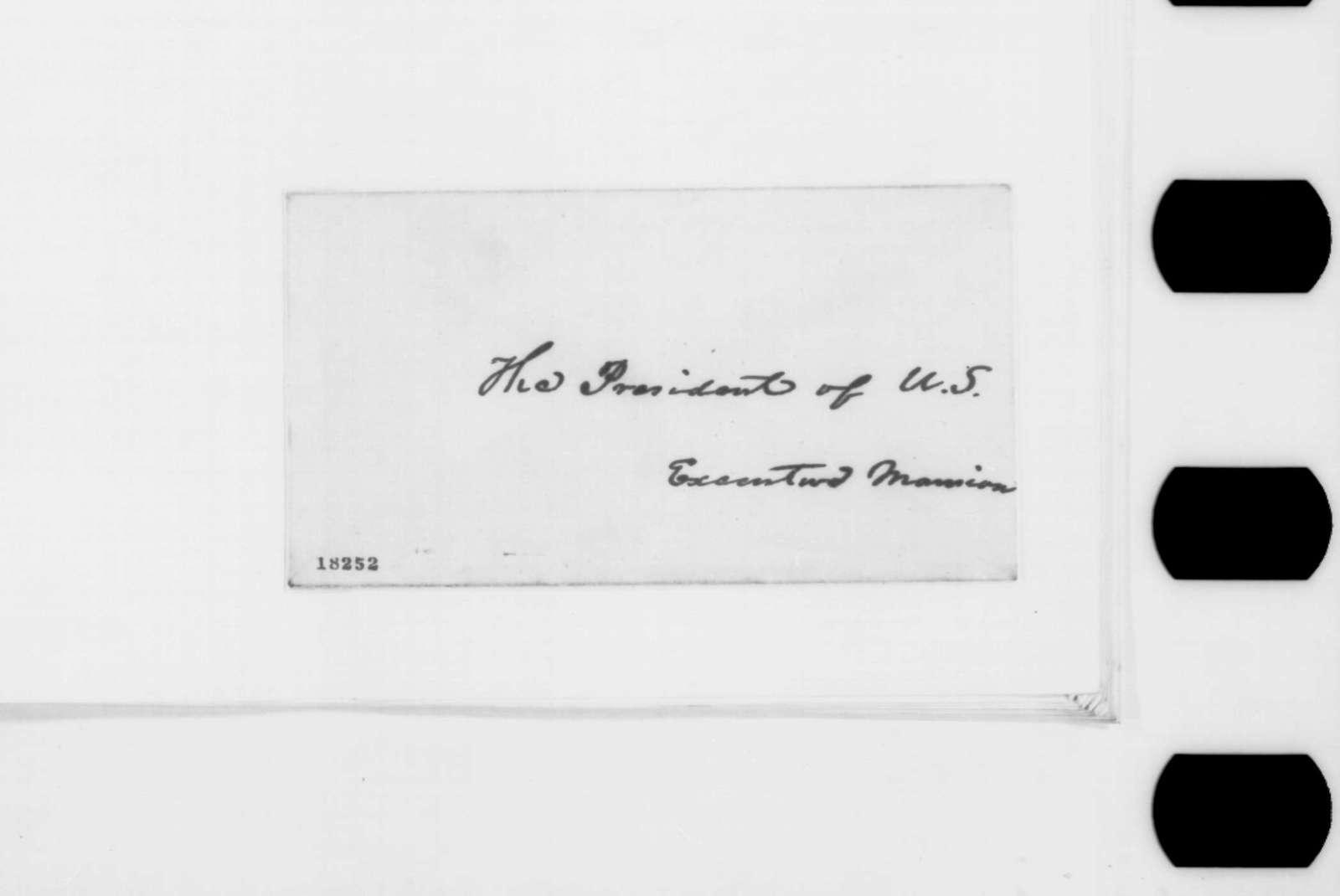 Garrett Davis, John B. Huston, and Richard A. Buckner to Abraham Lincoln, Saturday, September 06, 1862  (Appreciate meeting with Lincoln)