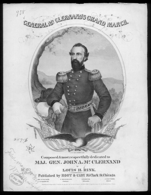 General McClernand's grand march