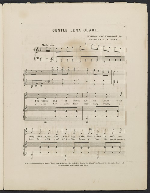 Gentle Lena Clare