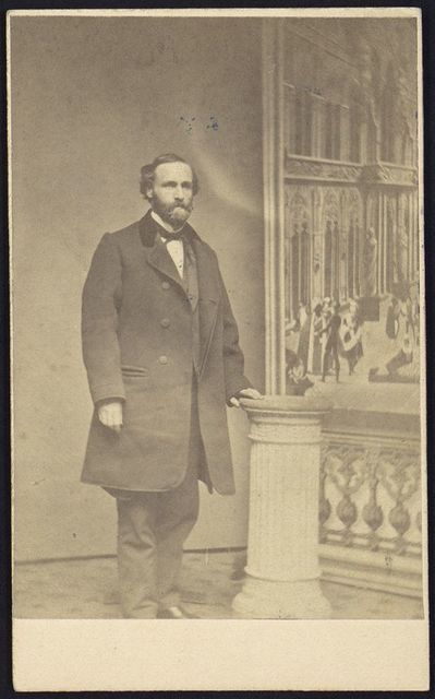 [Henry L. Dawes, full-length studio portrait, standing, facing slightly right]