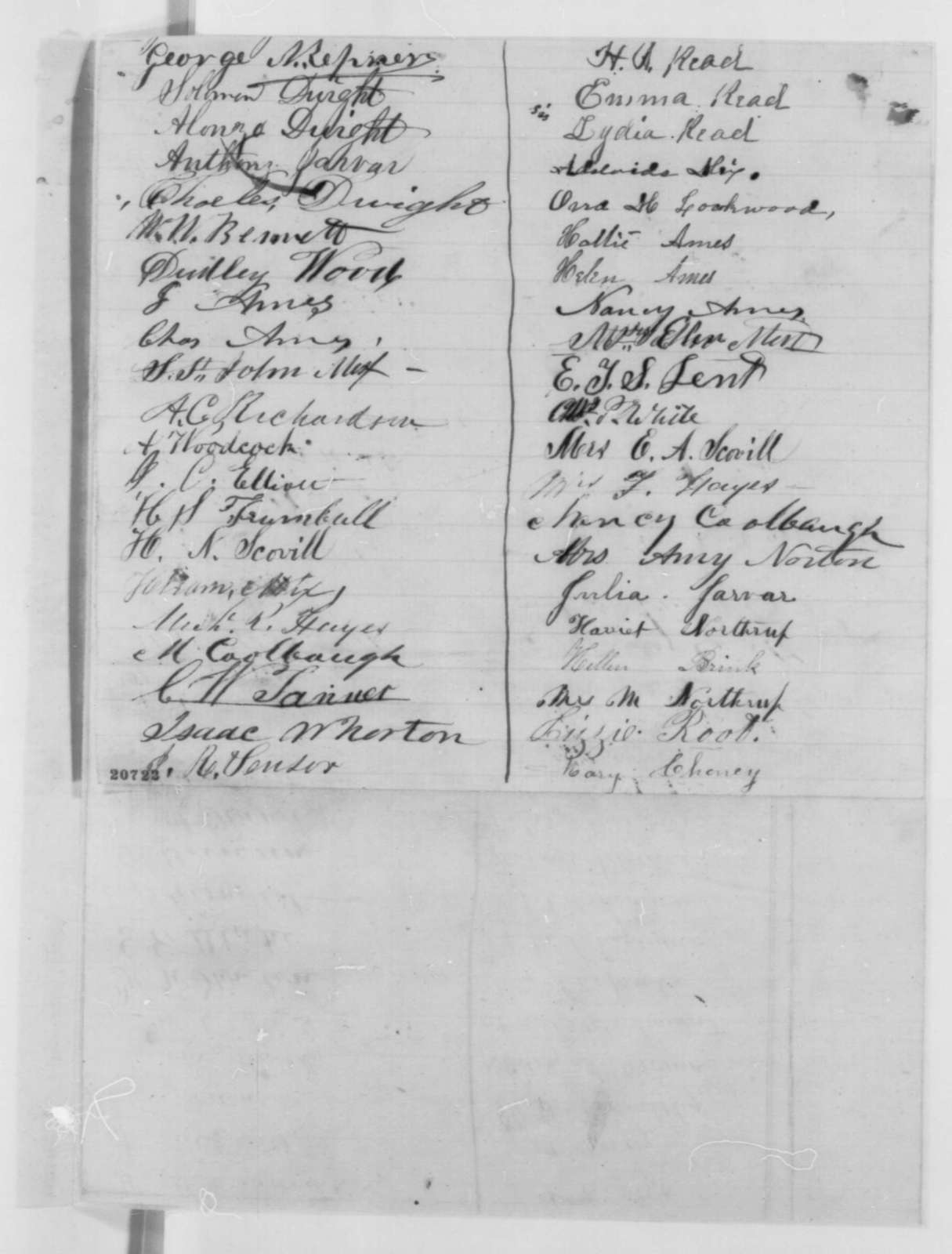 Illinois Citizens to Abraham Lincoln,  1862  (Petition recommending abolition of slavery)