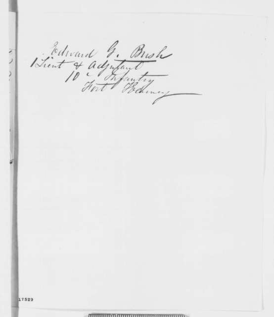 Jackson Grimshaw to Abraham Lincoln, Friday, August 08, 1862  (Recommendation; endorsed by Ozias Hatch)