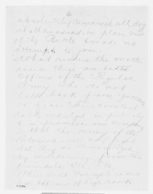 John Pope to Henry W. Halleck, Monday, September 01, 1862  (Telegram concerning military affairs)