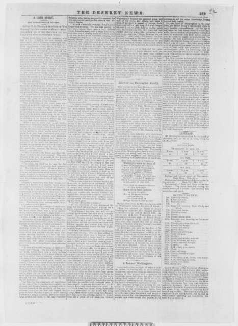 John W. Dawson to Abraham Lincoln, Monday, January 13, 1862  (Affairs in Utah Territory)
