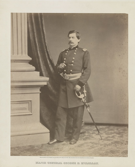 Major General George B. M'Clellan / R.W. Addis, photographer, Washington, D.C.