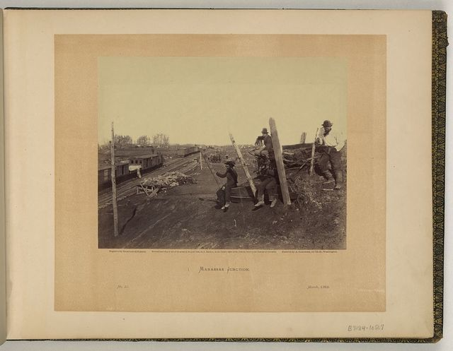 Manassas Junction / negative by Barnard & Gibson ; positive by A Gardner.