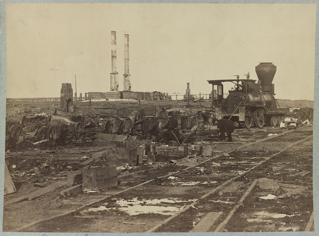 Manassas Junction, Va. after its evacuation by the Confederates, March, 1862