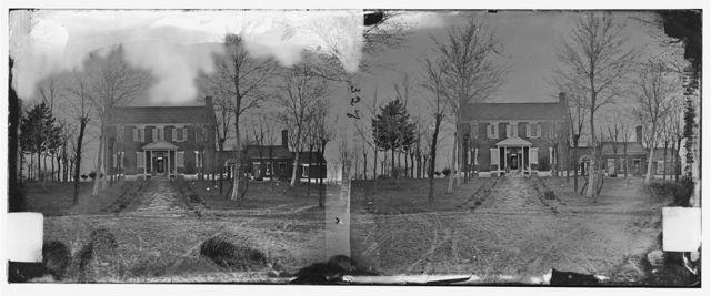 Manassas Station, Virginia. General Beauregard's headquarters