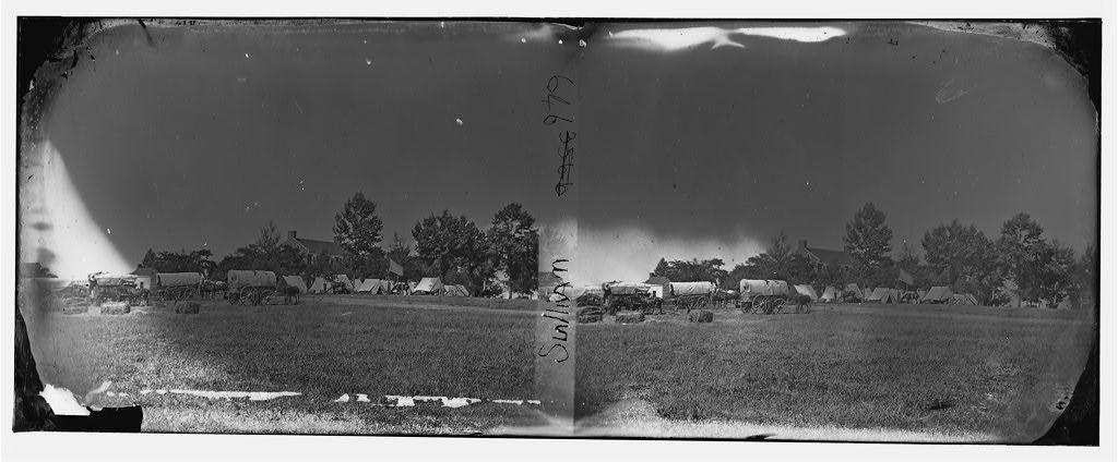 [Manassas, Va., vicinity. Headquarters of Gen. Irvin McDowell, formerly used by Gen. P. G. T. Beauregard]
