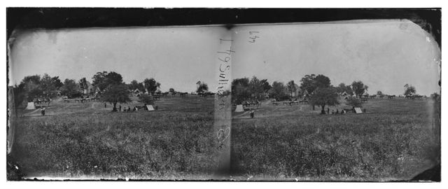 Manassas, Virginia (vicinity). Camp of General Irvin McDowell's body guard