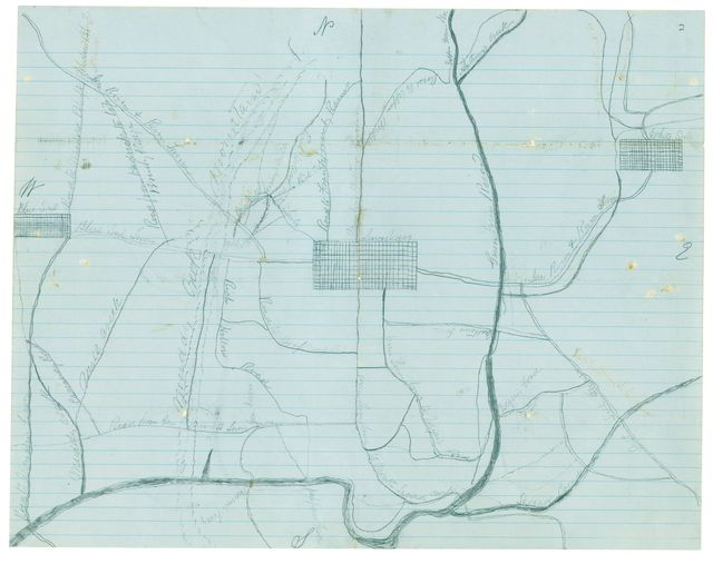 [Map of a part of Greenbrier County, West Va. /