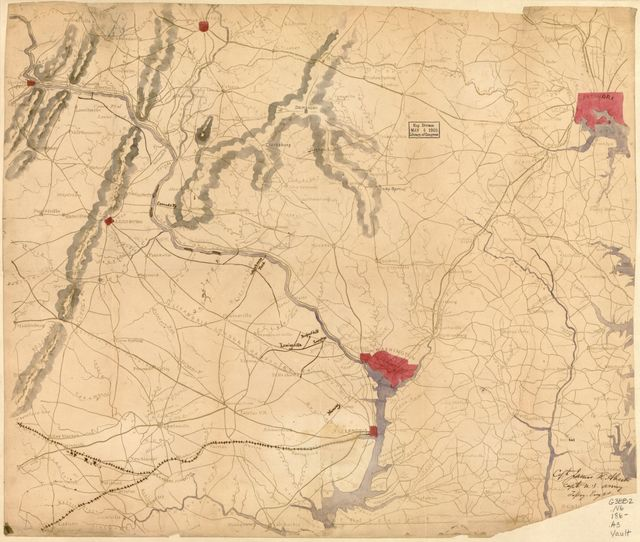 [Map of northern Virginia and part of Maryland].