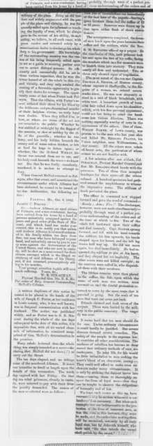 Palmyra Missouri Courier, Friday, October 24, 1862  (Clippings)