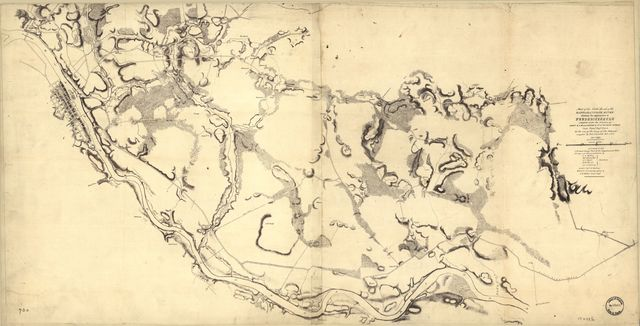Part of the north bank of the Rappahannock River showing the approaches to Fredericksburg : prepared under the direction of Capt. R.S. Williamson & 1st Lt. Nicolas Bowen, Corps Topogl. Engrs., U.S.A. for the use of the Army of the Potomac. Compiled by Fred. Churchill, vol. A.D.C. Decr. 1862 /