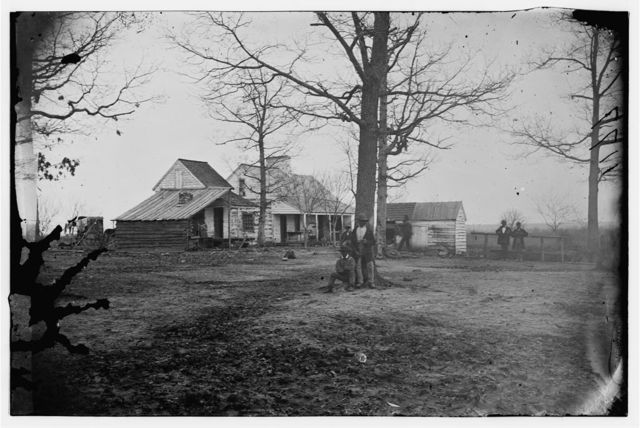 Port Royal, South Carolina. View of farm house