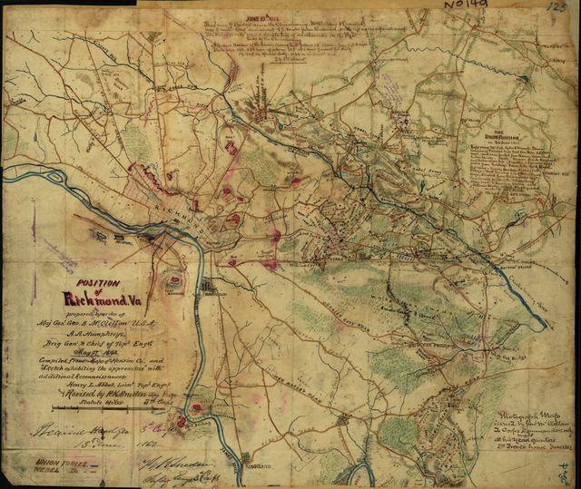 Position of Richmond, Va.