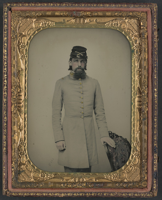 [Private William Stone of Co. D, 2nd South Carolina Cavalry Regiment, in uniform] / Rees.