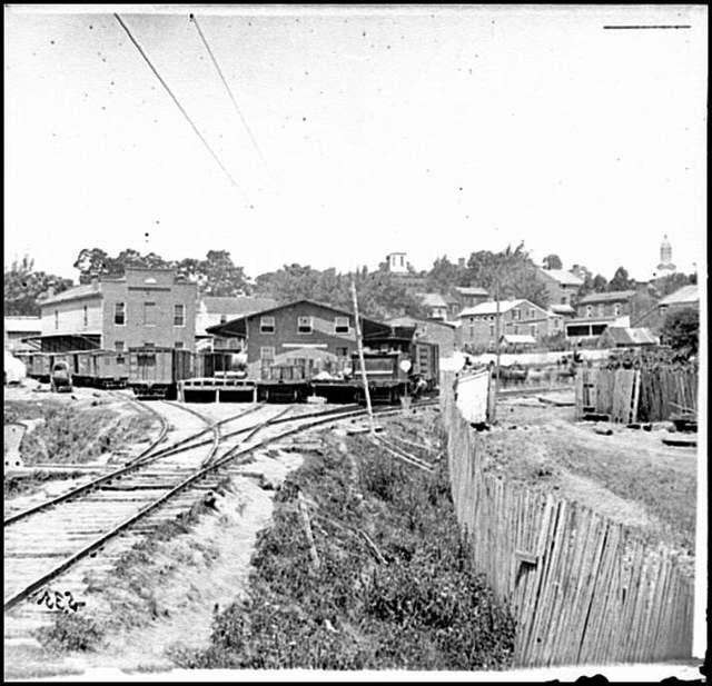 [Railroad depot in Warrenton]