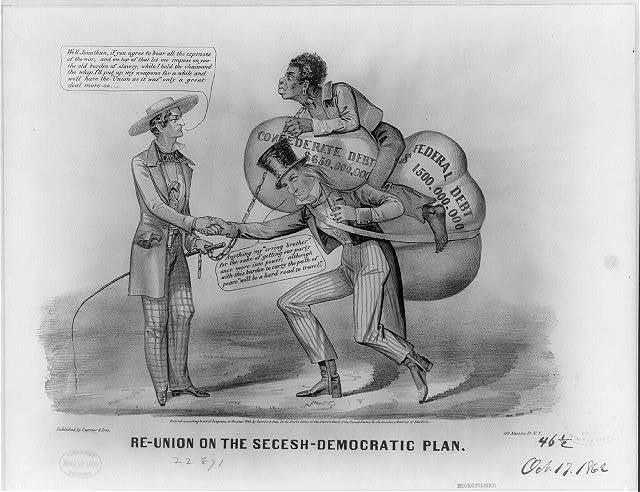 Re-union on the Secesh-Democratic plan