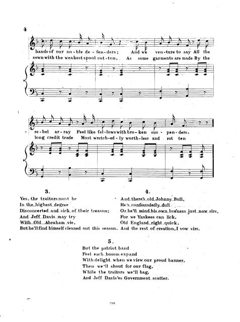 Rebellion's weak back : as sung by Billy Morris at Morris Bros., Pell and Trowbridge written by F. Wilmarth.
