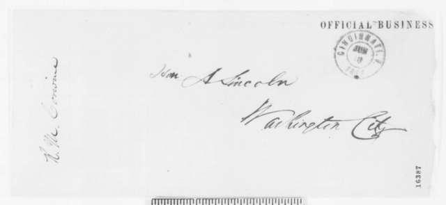 Richard M. Corwine to Edwin M. Stanton, Monday, June 09, 1862  (Provost marshal in Kentucky)