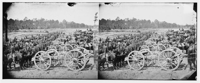 Richmond, Virginia (vicinity). Major (JM) Robertson's Battery of Horse Artillery
