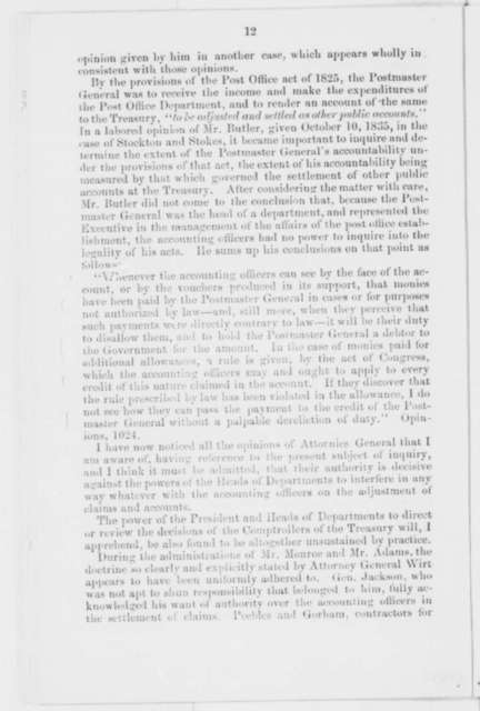 Robert J. Walker and Frederick P. Stanton,  1862  (Printed Pamphlet; endorsed by Abraham Lincoln)
