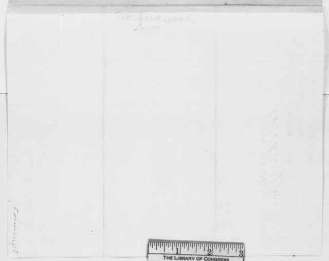 Samuel J. Kirkwood to Abraham Lincoln, Friday, July 04, 1862  (Recommendation)
