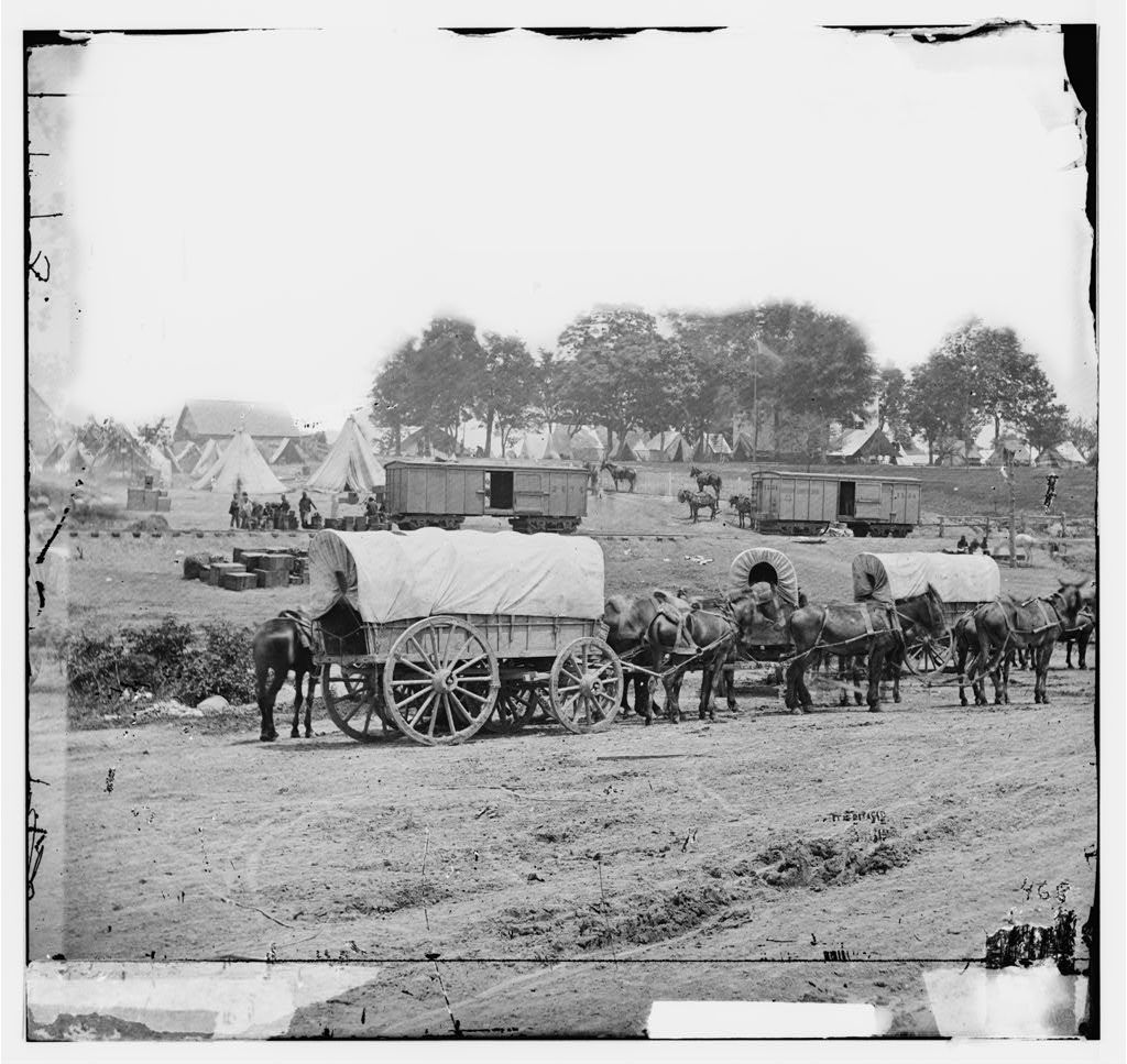 [Savage Station, Va. Headquarters of Gen. George B. McClellan on the Richmond & York River Railroad]