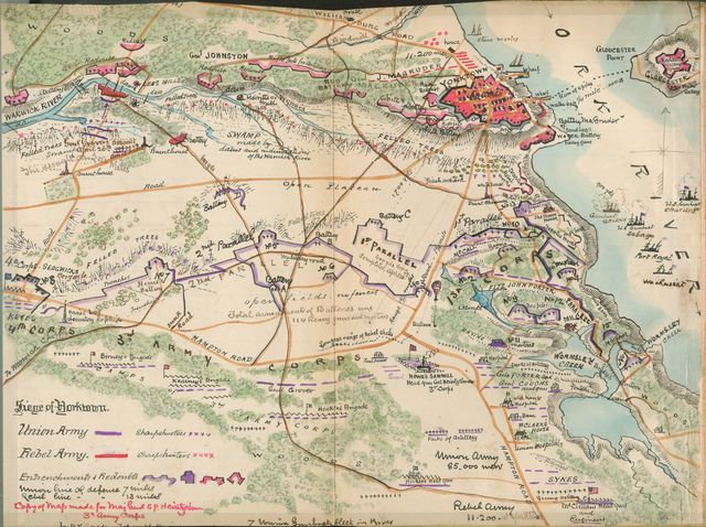Siege of Yorktown [Virginia].