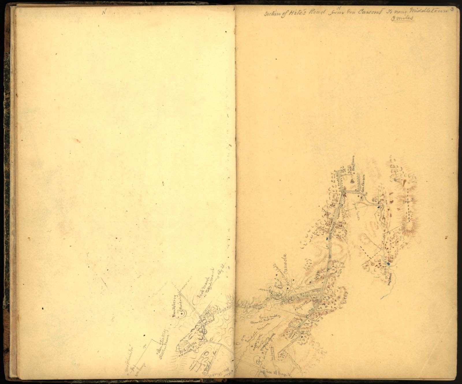 Sketch book of Jed. Hotchkiss, Capt. & Top. Eng., Hd. Qrs., 2nd Corps, Army of N. Virginia : [Virginia].