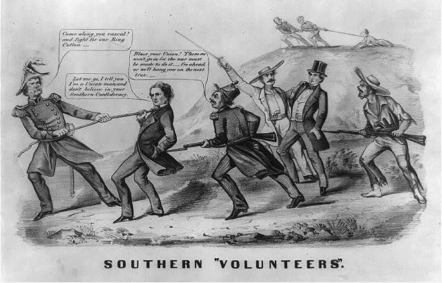 """Southern """"volunteers"""""""