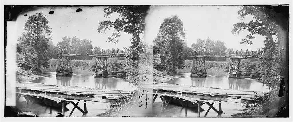 Sulphur Springs, Virginia (vicinity). Bridge over the north fork of the Rappahannock River