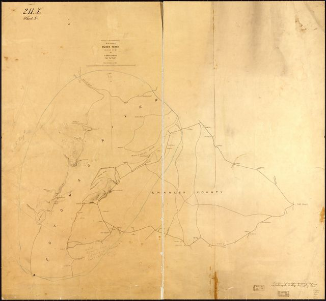 Surveys & reconnaissances in the vicinity of Budd's Ferry, Charles Co., Md. /