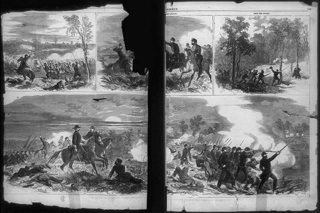 The Battle of Antietam, fought September 17, 1862