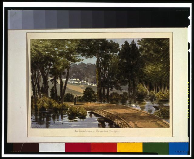 The Chickahominy - Alexanders Bridge / McIlvaine.