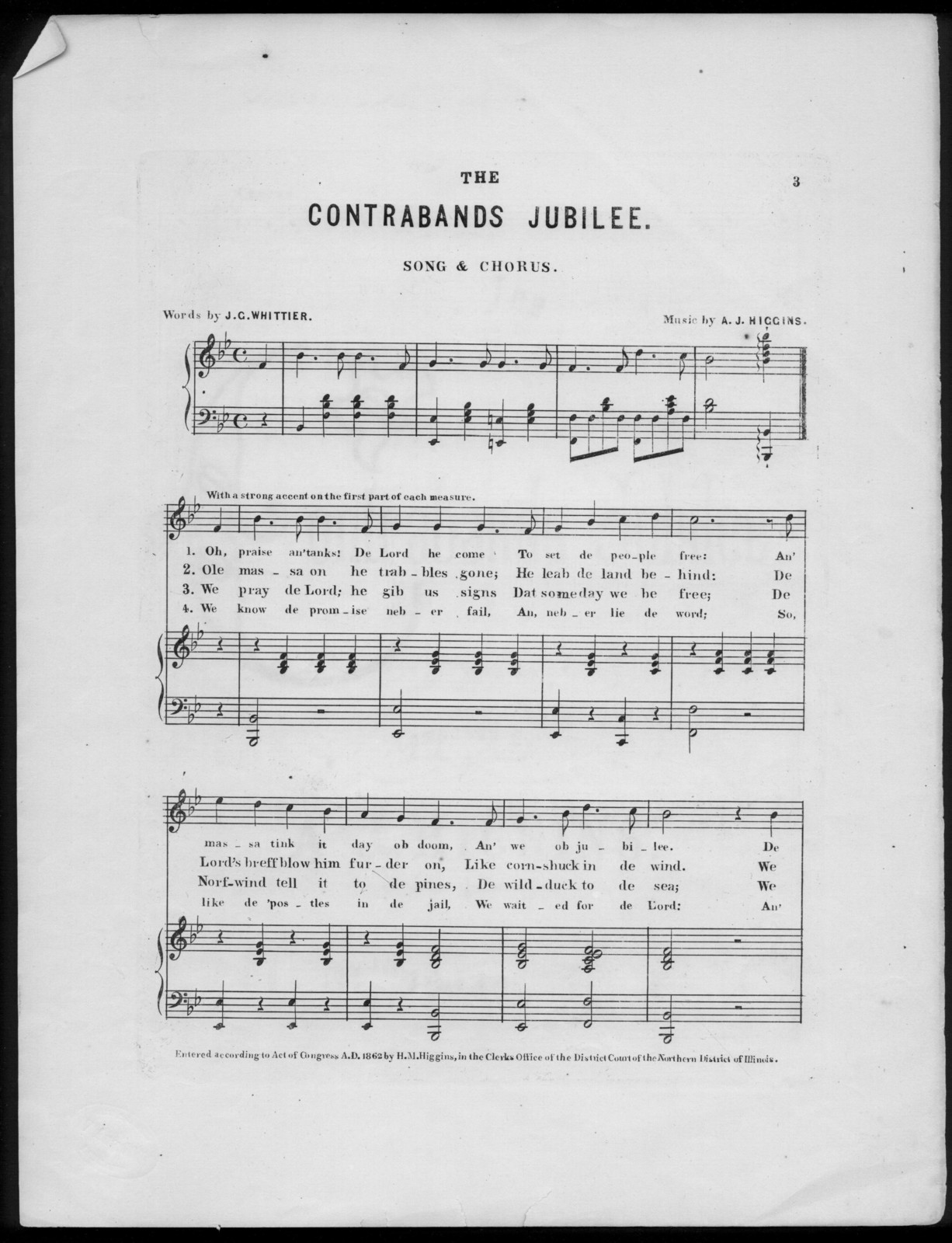 The  Contrabands jubilee