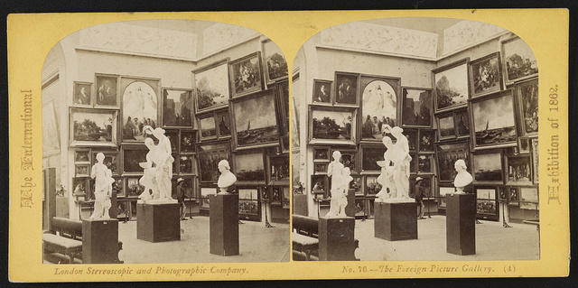 The International Exhibition of 1862 The foreign picture gallery.