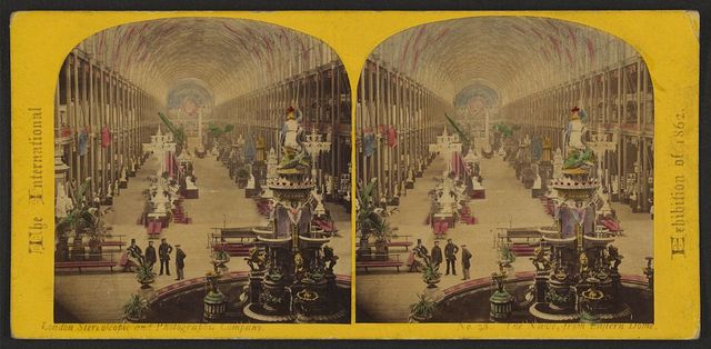 The International Exhibition of 1862 The nave, from eastern dome.