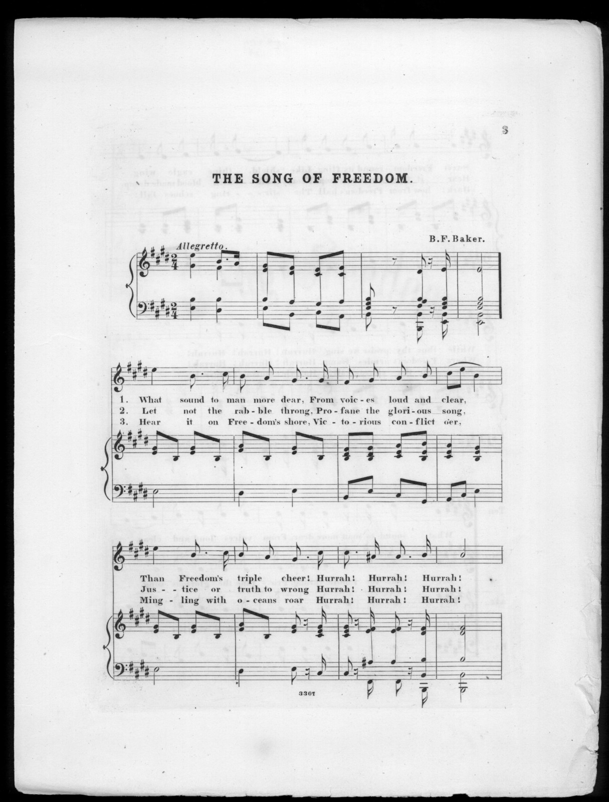 The  Song of freedom