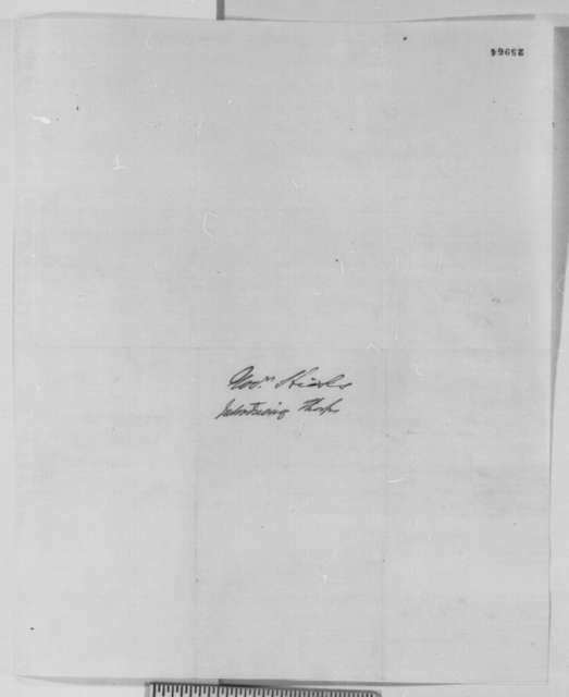 Thomas H. Hicks to Abraham Lincoln, February 1862  (Introduces Tharp and congratulates Lincoln on recent military victories)
