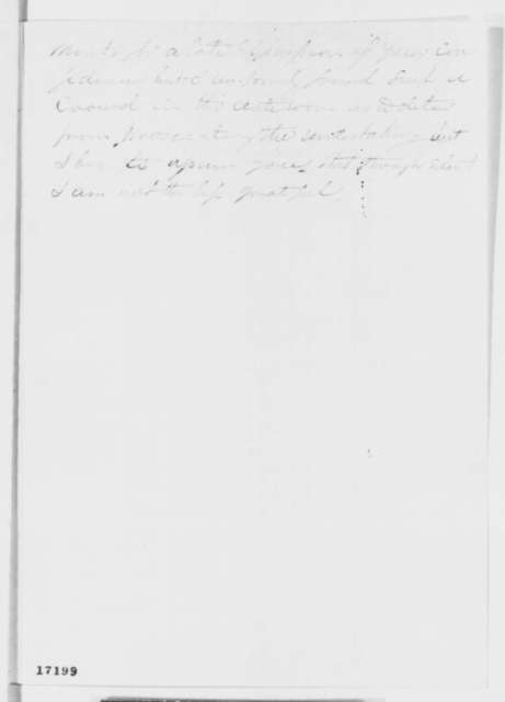 Truman Smith to Abraham Lincoln, Saturday, July 19, 1862  (Affairs in Texas)