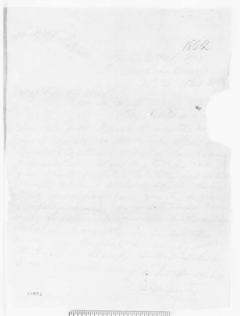 Ulysses S. Grant to Henry W. Halleck, Saturday, October 04, 1862  (Telegram concerning military affairs)
