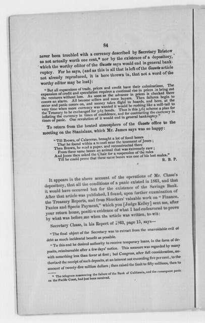 United States Finance, 1862