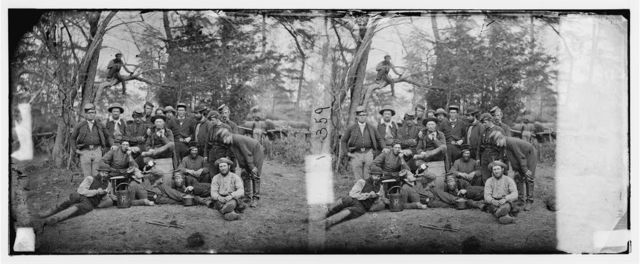 "Yorktown, Virginia (vicinity). Servants of officers of staff. (The ""Beef-killers"" of the army) Camp Winfield Scott"