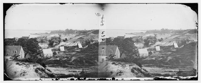 Yorktown, Virginia. View from Cornwallis cave