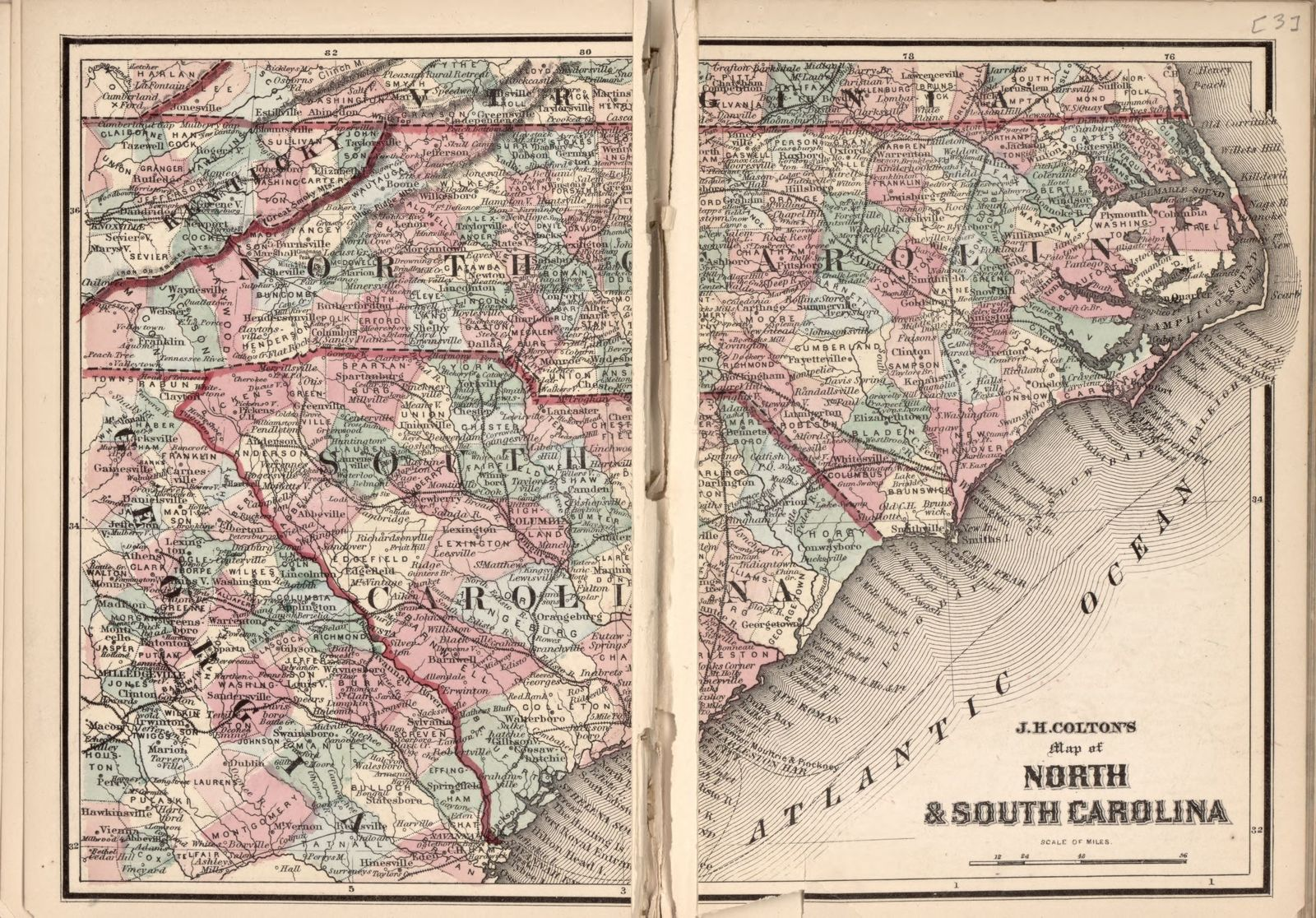 A chronological history of the civil war in America.