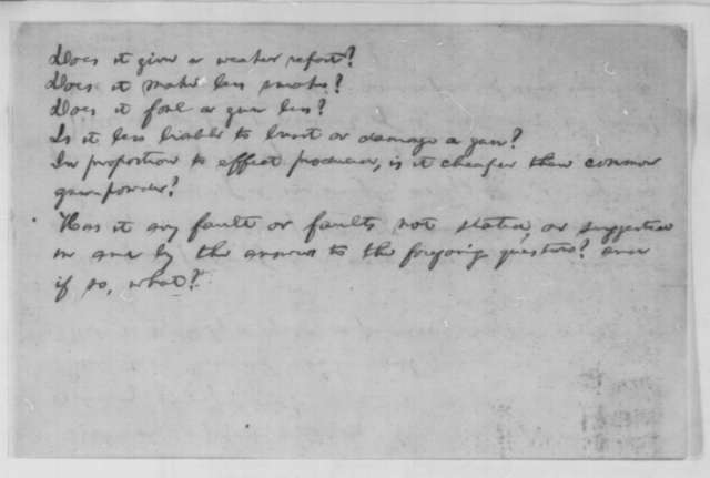 Abraham Lincoln to Charles M. Wetherill, [November 2 1863]  (Memorandum of Instructions for the Test of Isaac Diller's Powder)