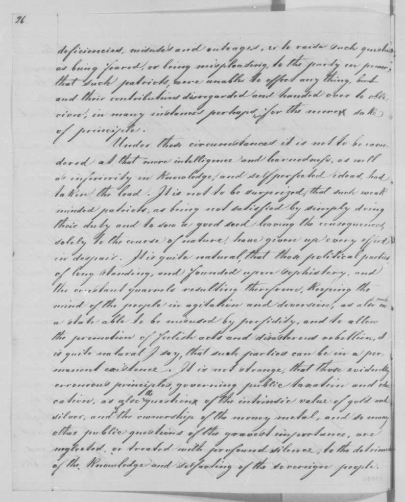 Albertus Meyer to Abraham Lincoln, Wednesday, December 30, 1863  (Political and economic affairs)